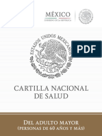 Cartilla Nacional Adulto Mayor
