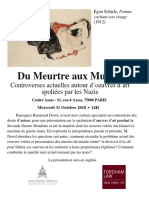 Du Meurtre Aux Musees Assas Law Paris Ray Dowd
