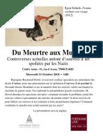 Du Meurtre Aux Musees Assas Law Paris Ray Dowd