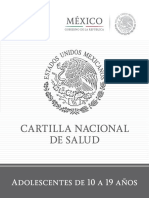Cartilla Nacional de Adolescentes