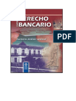 Derecho Bancario Libro Completo