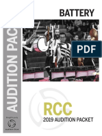RCC Audition Packet 2019