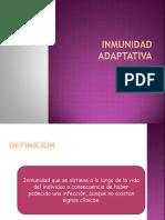 Inmunidad Adaptativa y Presentacion de Antigeno