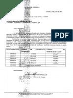 LISTAS DE NOTAS FALSAS NA PRESTAÇÃO DE CONTAS DA SETUR-PI EM 2014