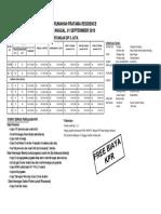 Pricelist - 5 JUTA SEPT 2018