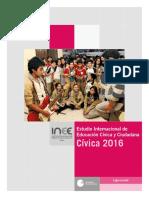 Estudio Internacional Edc Civica y Ciudadania 2016 Informe Mx