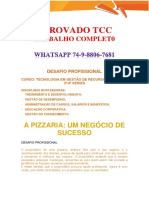 Anhanguera Rh 3 e 4 Pizzaria