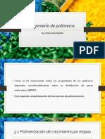 [IP] Unidad III - Reacciones de Polimerización