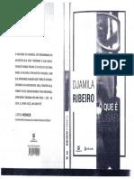 RIBEIRO. Djamila. O que é lugar de fala..pdf