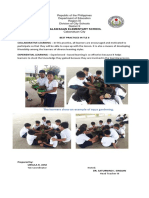 Calawagan Best Practices in TLE