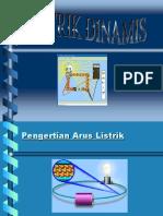 Arus Listrik Dinamis PPT