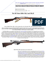 Lee-Enfield Rifle RF Short MksI and II (II)