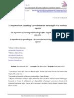 Dialnet-LaImportanciaDelAprendizajeYConocimientoDelIdiomaI-6234740