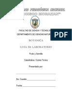 8. Guías de Lab. Botánica Fruto y Semilla