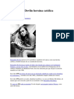 Bernadette Devlin Heroína Católica
