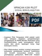 Bahan Presentasi Tentang Pilot Project Pengembangan Ksm