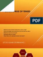 7 General Rule of Tenses