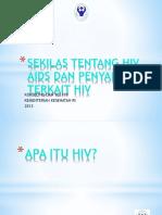 Hiv Dasar Lengkap Kthiv Presentasi