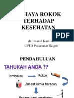 Bahaya Rokok Pd Kesehatan