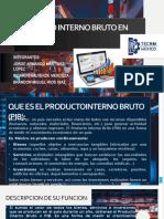 Producto Interno Bruto en Mexico(Pib)