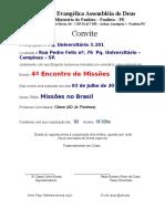 76847601 Carta Convite