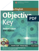 Cambridge English Objective Key Student's Book with Answers