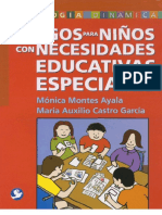 dinamicas para niños con necesidades educativas especiales