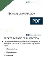 Análisis Factorial en Inspeccion