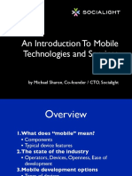 Intro to Mobile