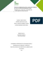 Informe Practicas Servicio de Alimentacion Ce Camilo