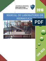 Manual de Laboratorio de Hidraulica