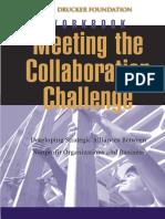 Collaboration Challenge Workbook