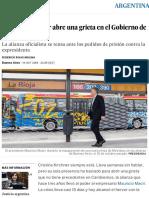 Argentina_ Cristina Kirchner Abre Una Grieta en El Gobierno de Mauricio Macri _ Argentina _ EL PAÍS
