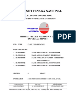 MEHB221 Coverpage Informal Report