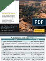 Sesión 7 Augusto y La Consolidación de La Roma Imperial