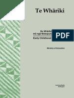 Curriculum Te Whariki