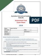 2018 assessment task cover sheet  10