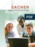 McRELTeacher Evaluation Users Guide