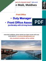 Recruitment Poster October 17