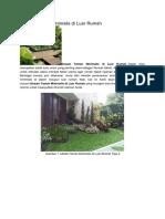 Desain Taman Minimalis di Luar Rumah.docx