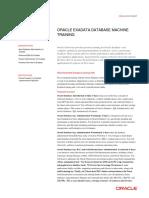 Oracle Exadata Training Datasheet v2