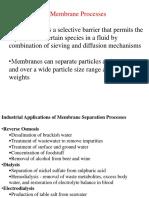 Membrane Separation111