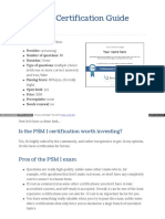 PSM Guide