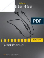 Jabra Elite 45e User Manual en RevA