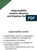Ch_4_Responsibility Centers Expense and Revenue