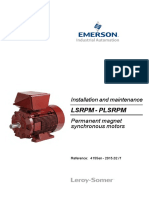 Emerson Permanent Magnet Synchronous Motors