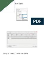 Create Depth Shift Table