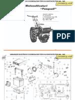 1479s Arranque Electrico Iluminacion Motocultor940 945