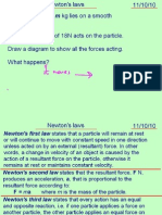 Mechanics1 Newtons Laws 111010