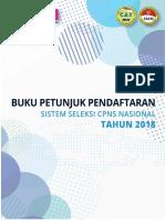 BUKU PETUNJUK PENDAFTAR SISTEM SELEKSI CPNS NASIONAL TAHUN 2018.pdf